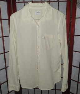 Vintage Levi's Plaid Button Down Shirt